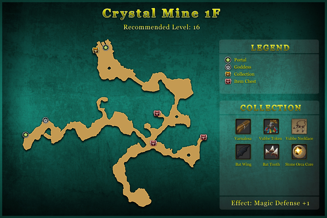 Crystal Mine 1F