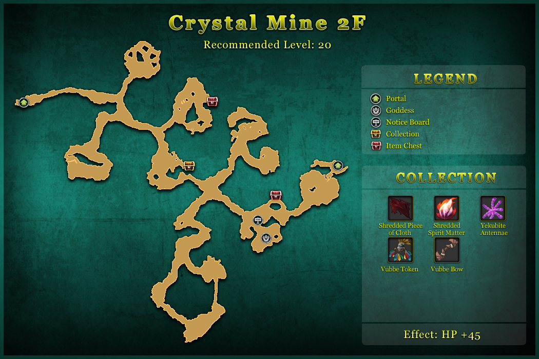 Crystal Mine 2F