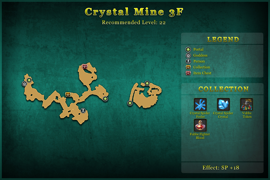 Crystal Mine 3F