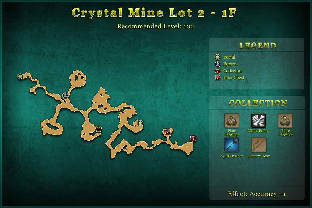 Crystal Mine Lot 2 - 1F