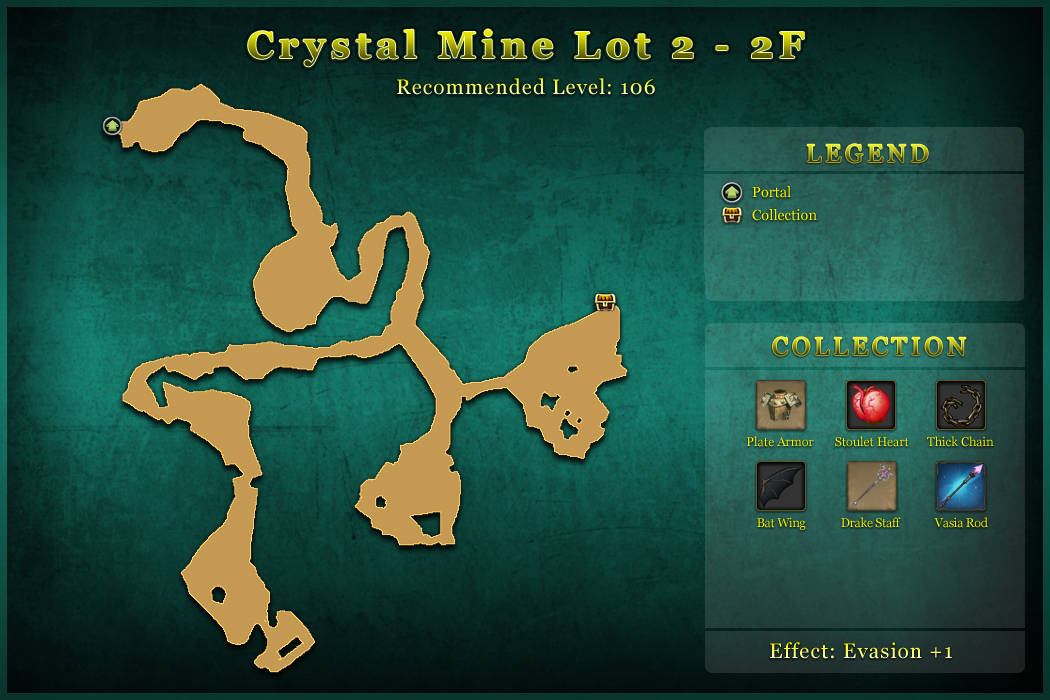 Crystal Mine Lot 2 - 2F