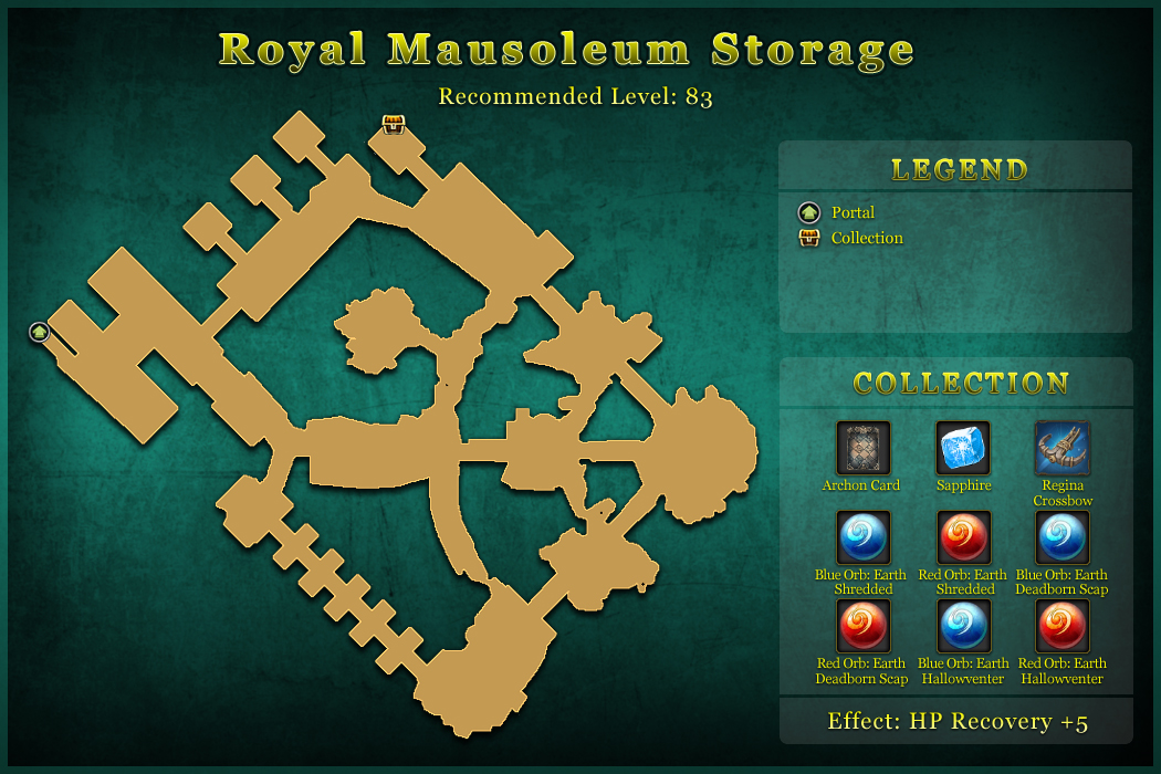 Royal Mausoleum Storage