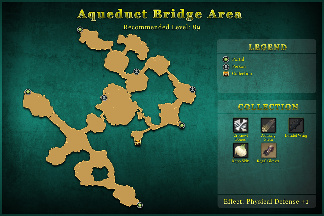 Aqueduct Bridge Area