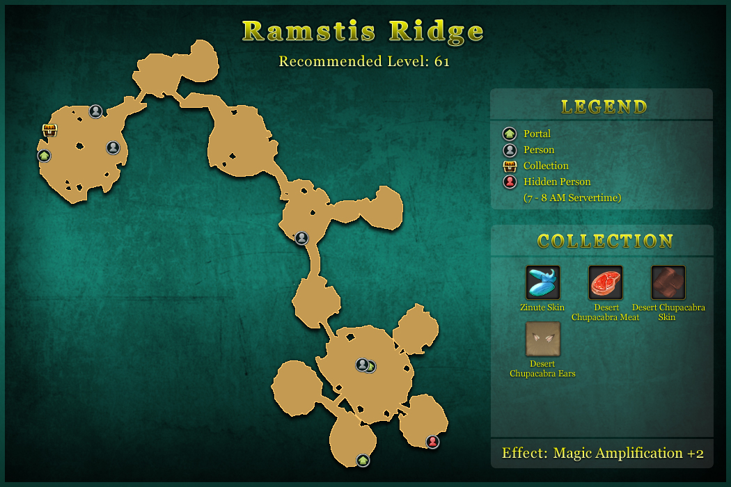 Ramstis Ridge  World Map  Tree of Savior Fan Base