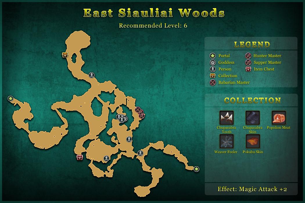 East Siauliai Woods