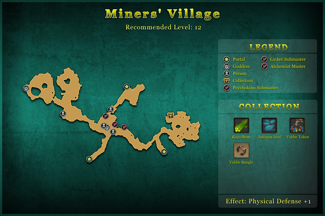 Miners Village World Map Tree of Savior Fan Base